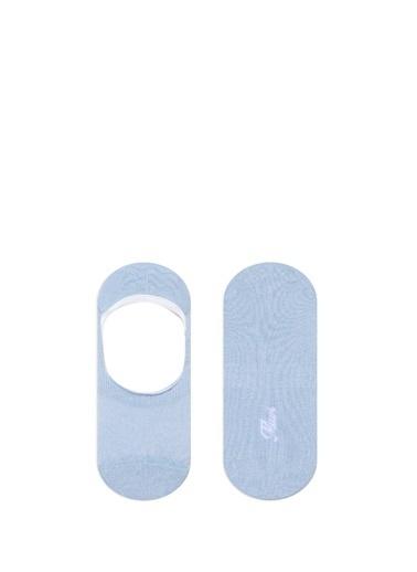 Mavi  Babet Çorabı Mavi